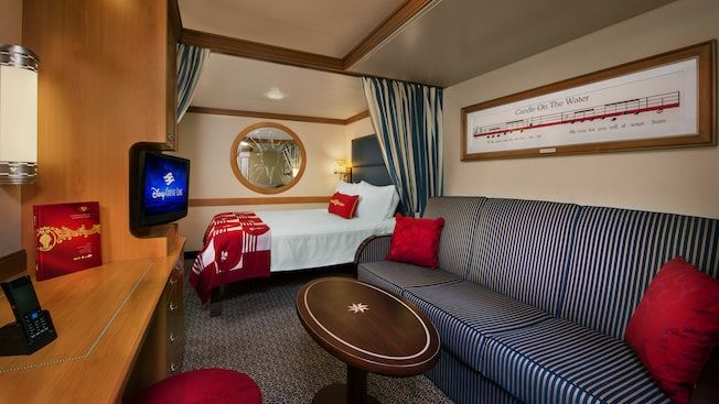 Deluxe Inside Stateroom – Category 10A, 10B, 10C