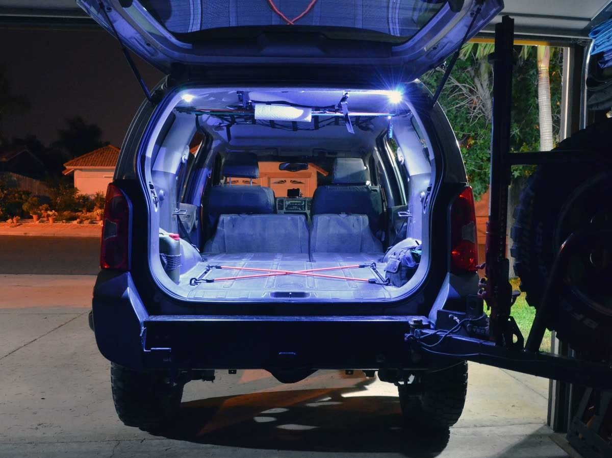 Subtle Led Quot Trunk Quot Lighting Second Generation Nissan