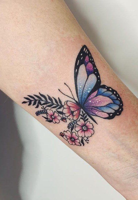 Photo of 55 Entzückende Schmetterling Tattoos, die Sie sich unbedingt ansehen