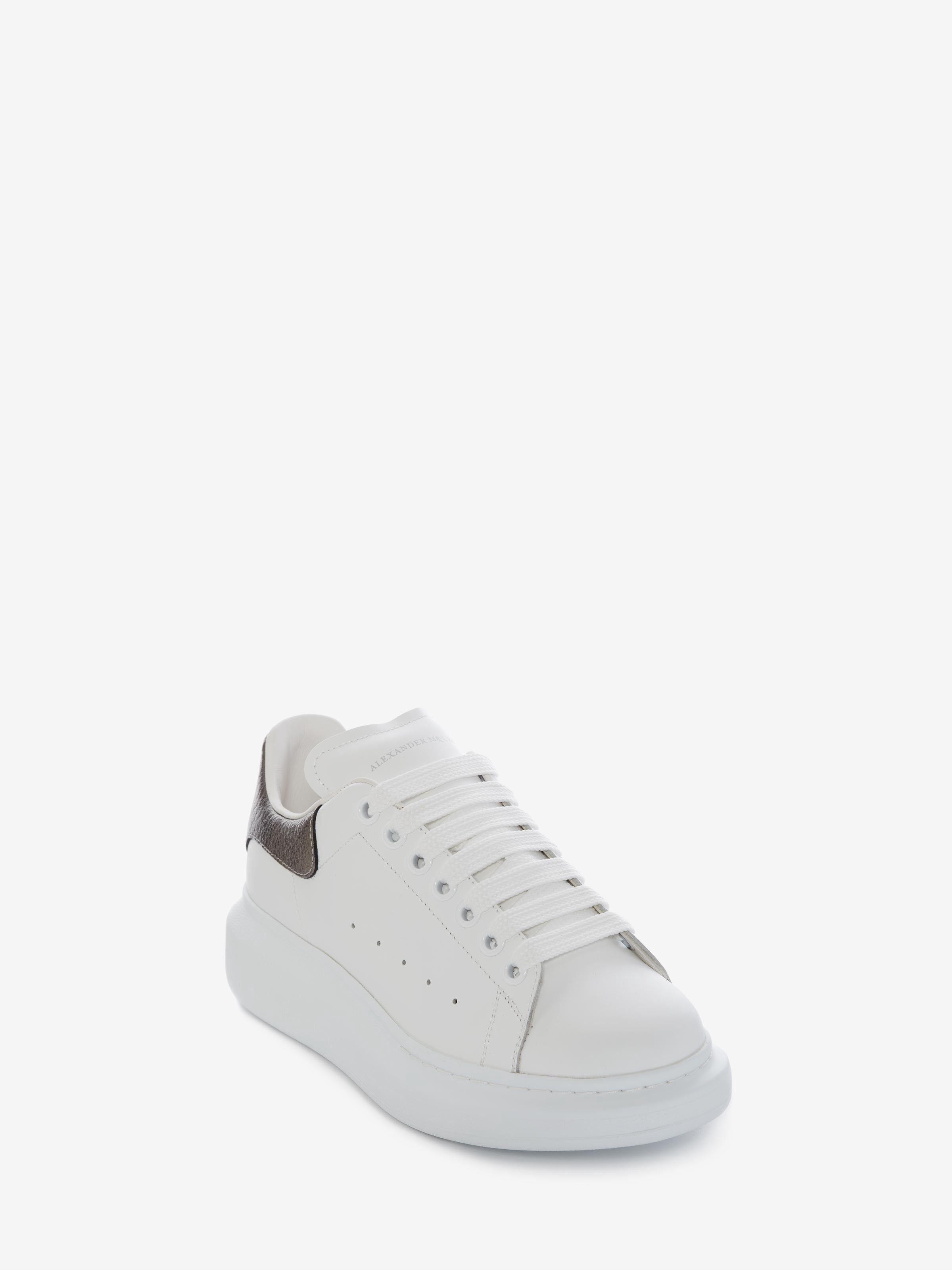 Alexander Mcqueen Oversized Sneaker Bleach White 34