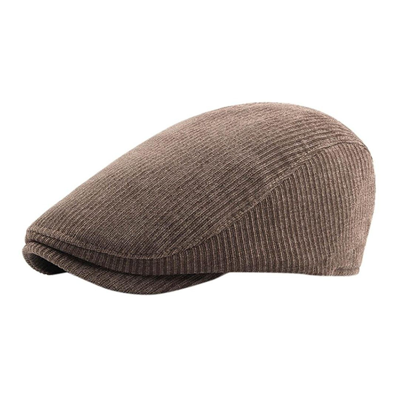 183d50fdf88 Ivy Hat Gatsby Flat Newsboy Duckbill Cotton Cap Men Driving Golf ...