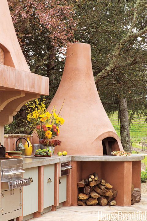 15 Outdoor Kitchens That Will Make You Never Want To Cook Inside Again Outdoor Kitchen Decor Outdoor Kitchen Design Rustic Outdoor Kitchens