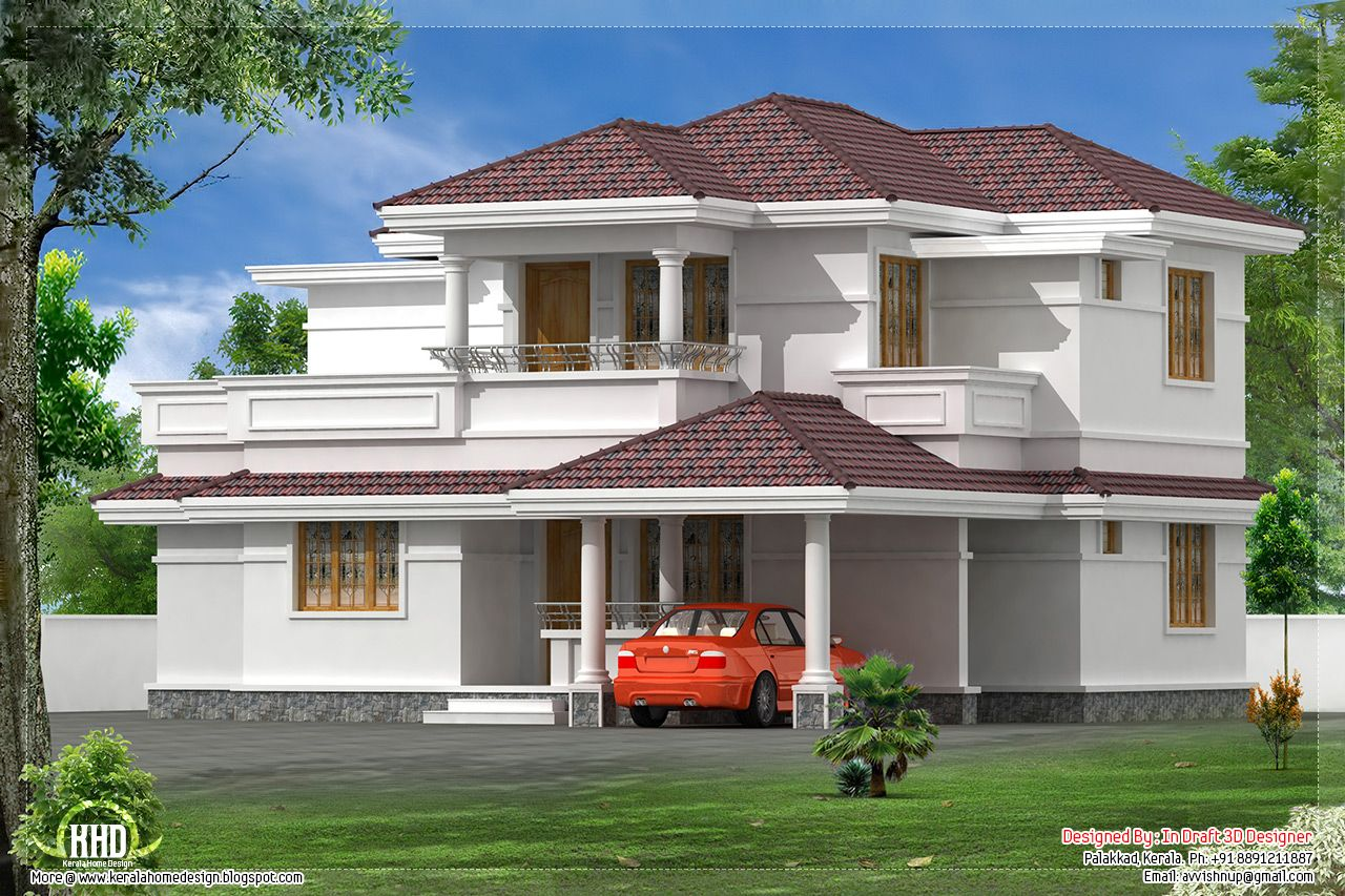 for Elevation of kerala homes