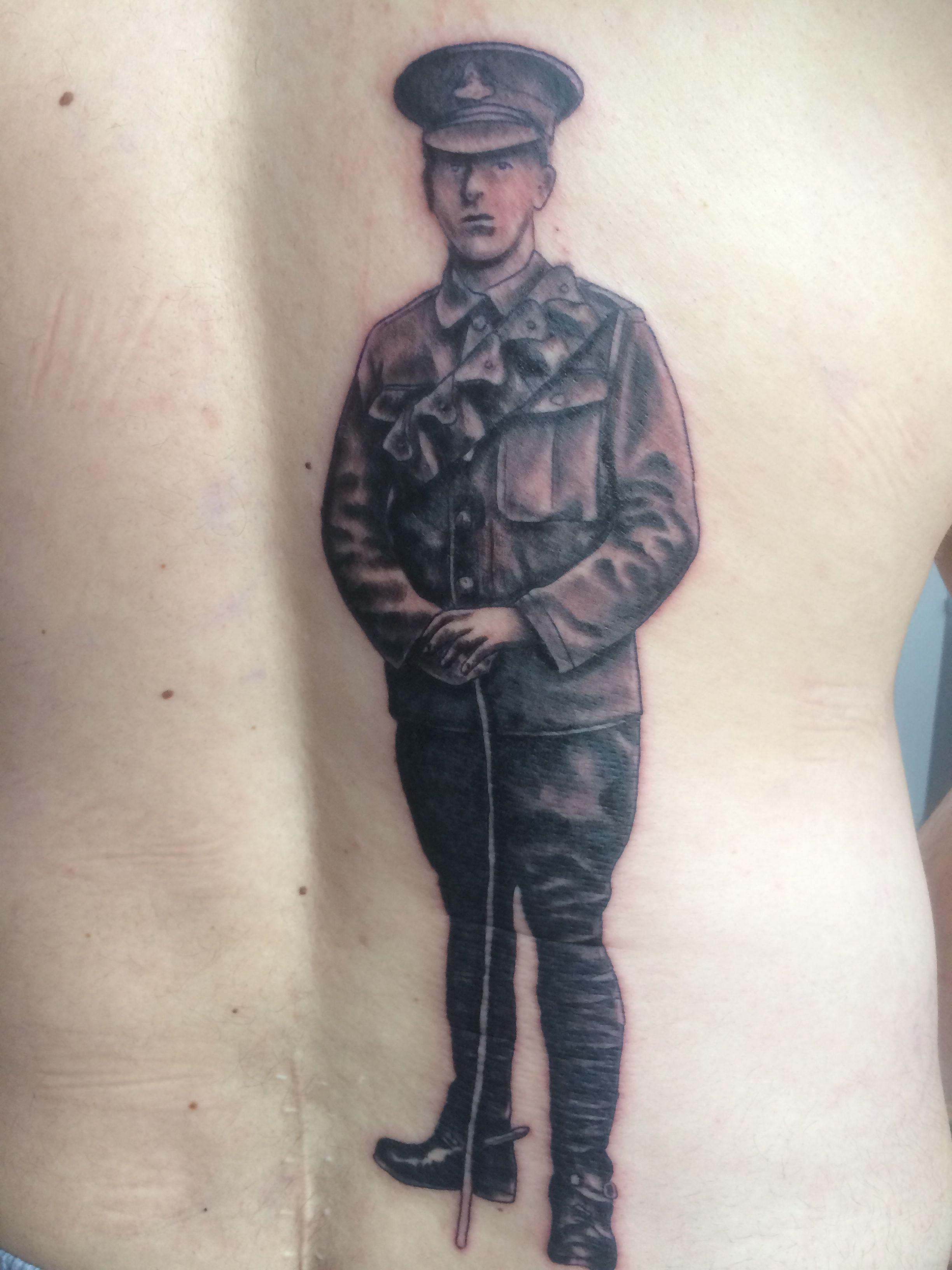 Field artillery tattoos