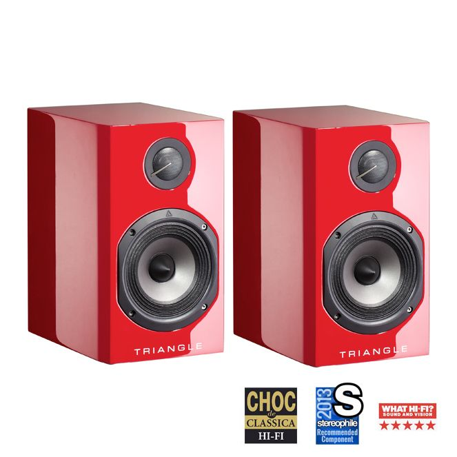 Triangle Color Bookshelf Loudspeakers available at AudioEmotion.co ...