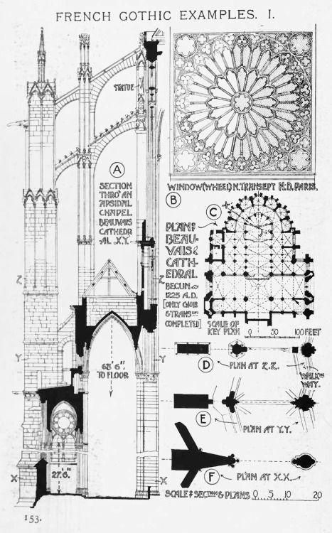 European Architecture Cathedral Architecture Gothic Architecture Gothic Architecture Drawing
