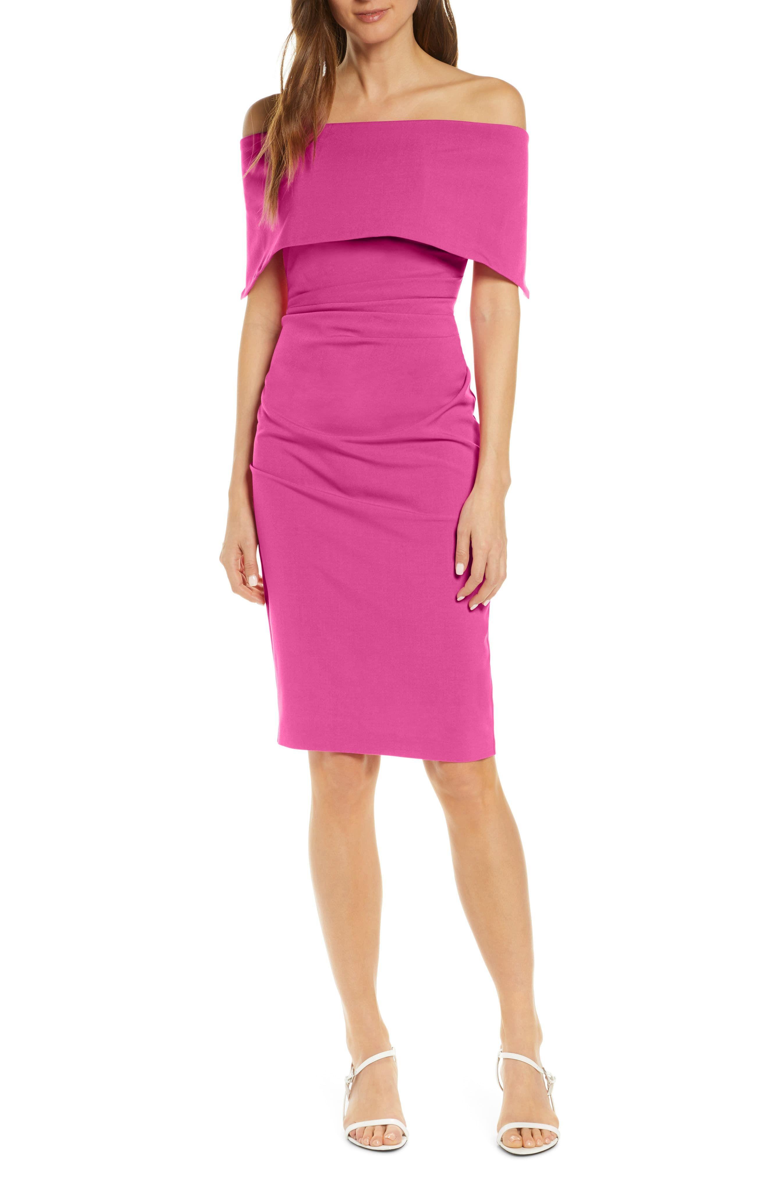 Vince Camuto Popover Cocktail Dress Regular Petite Nordstrom Classy Dress Dresses Cocktail Dress [ 4048 x 2640 Pixel ]