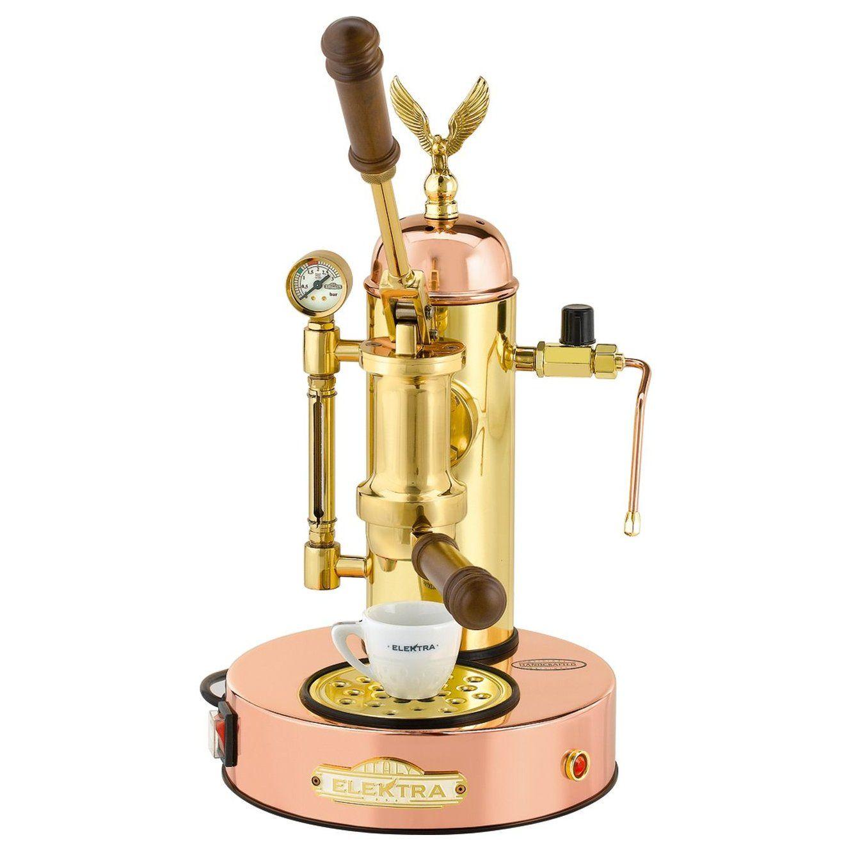 Elektra Micro Casa a Leva Lever Espresso Machine Copper