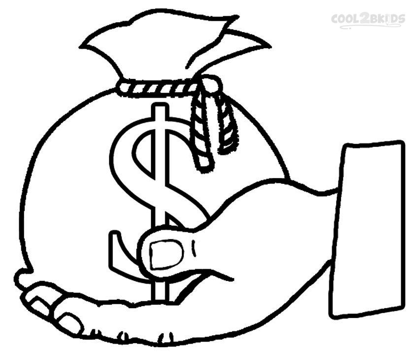 money coloring pages ( images)  coloring pages for
