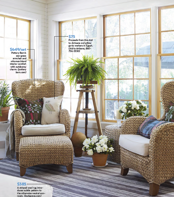 Country Decorating Ideas Magazine: Home Of Tracy Reese In Country Living Magazine