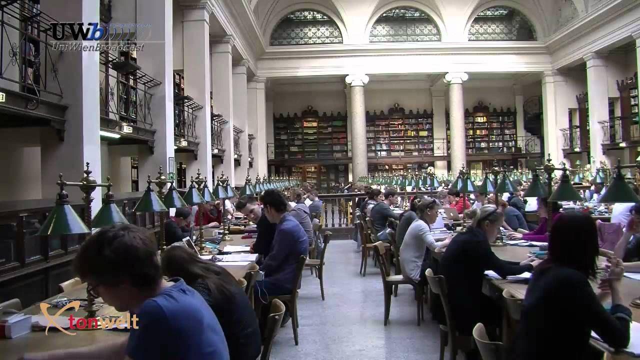 Bibliothek der Universität Wien - University library in Vienna, Austria
