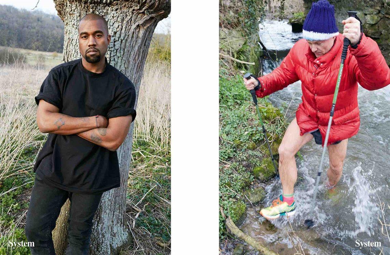 Jurgen Teller Fotographiert Kanye West Und Kim Kardashian Juergen Teller