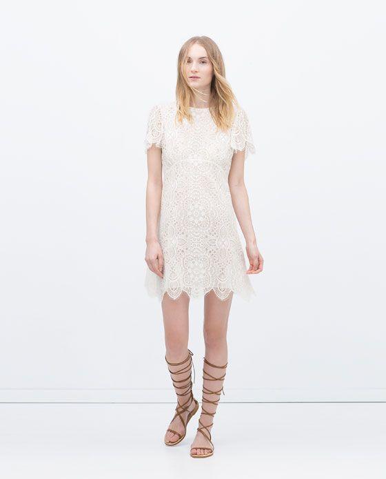 EncajeModa Style 59 95€ Vestidos Zara Vestido Fashion Mujer mNPnwy8Ov0