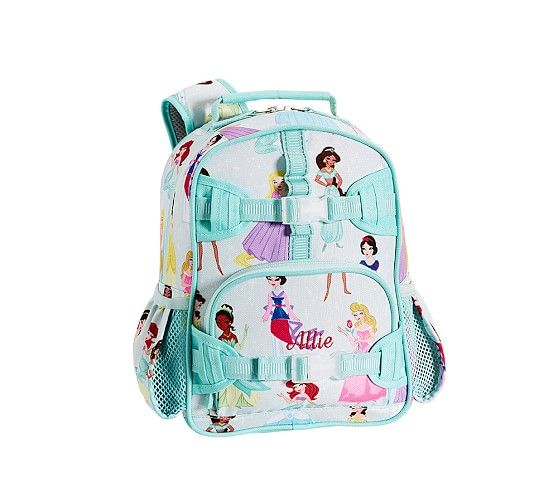 Mackenzie Aqua Disney Princess Backpack Lily S Lovelies