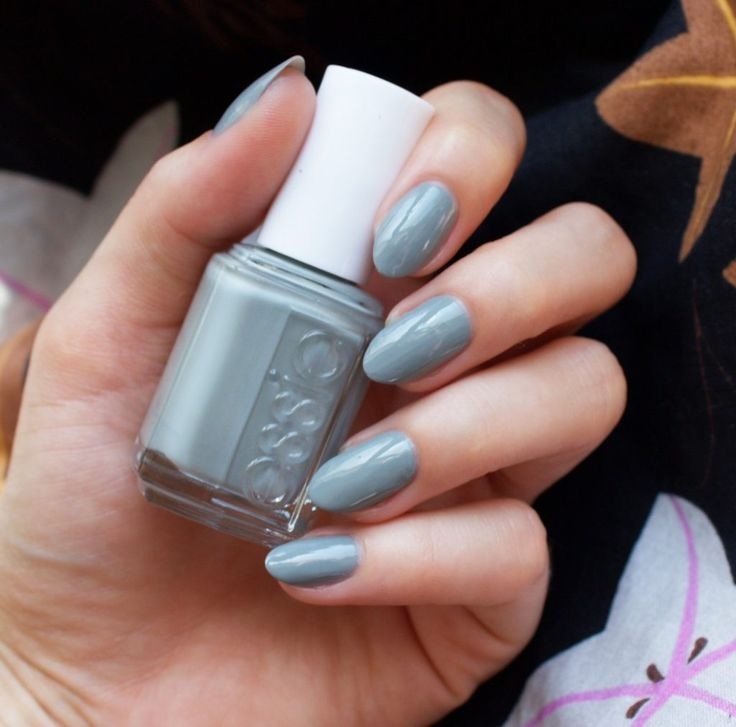 essie fall 2016 collection now and zen sage grey nail polish | Nails ...