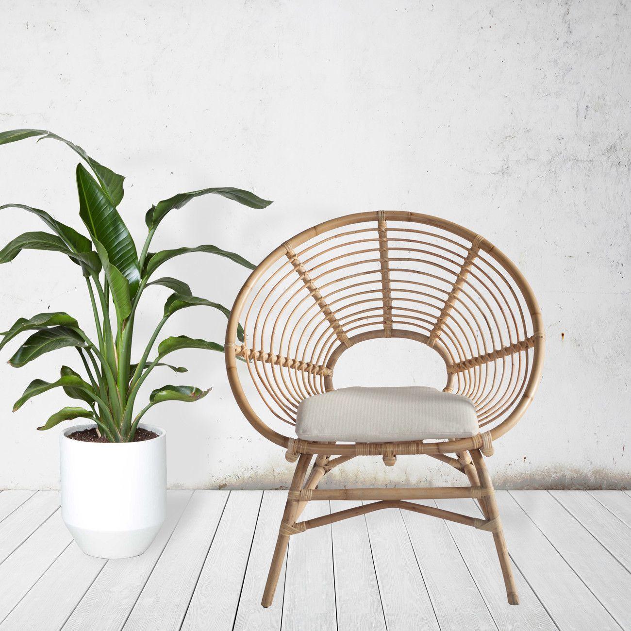 Ring Rattan Chair