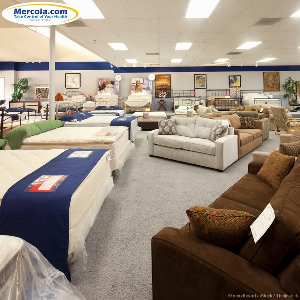 When buying new products such as furniture, mattresses, or