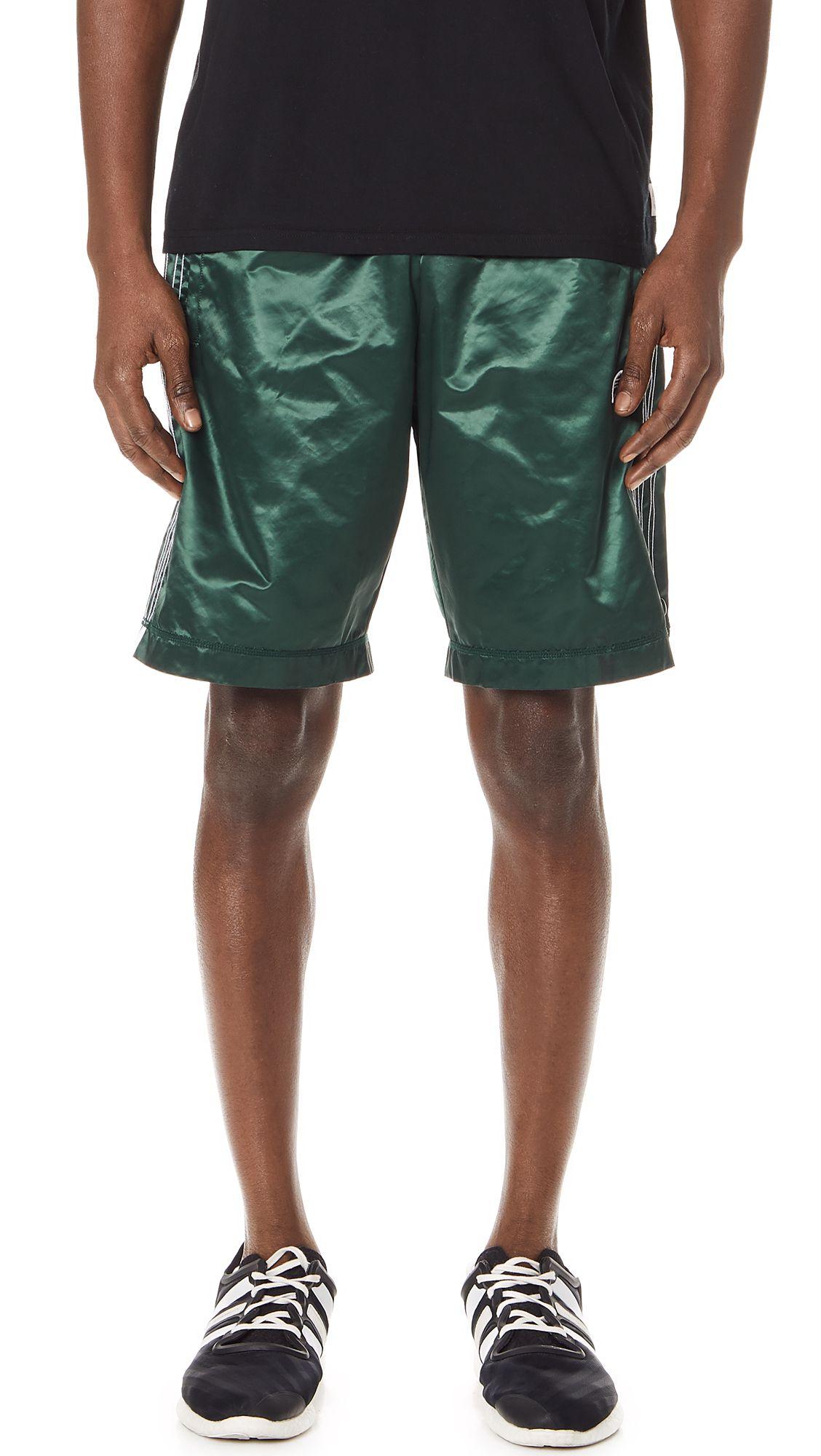 oh adibreak pantaloncini verdi pinterest alexander wang, adidas e