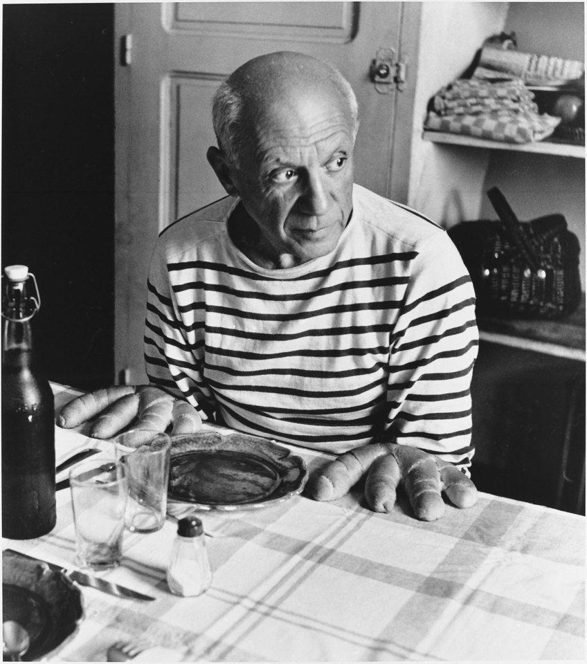 ロベール・ドアノー Robert Doisneau 《ピカソのパン》 1952(画像あり ...