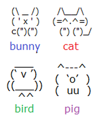 Just Made Some Cute Keyboard Animals And Wanted To Share