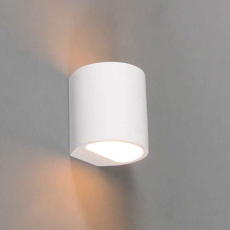 Modern Wall Lamp White Round Gipsy Arles In 2020 Wall Lights Modern Lighting Modern