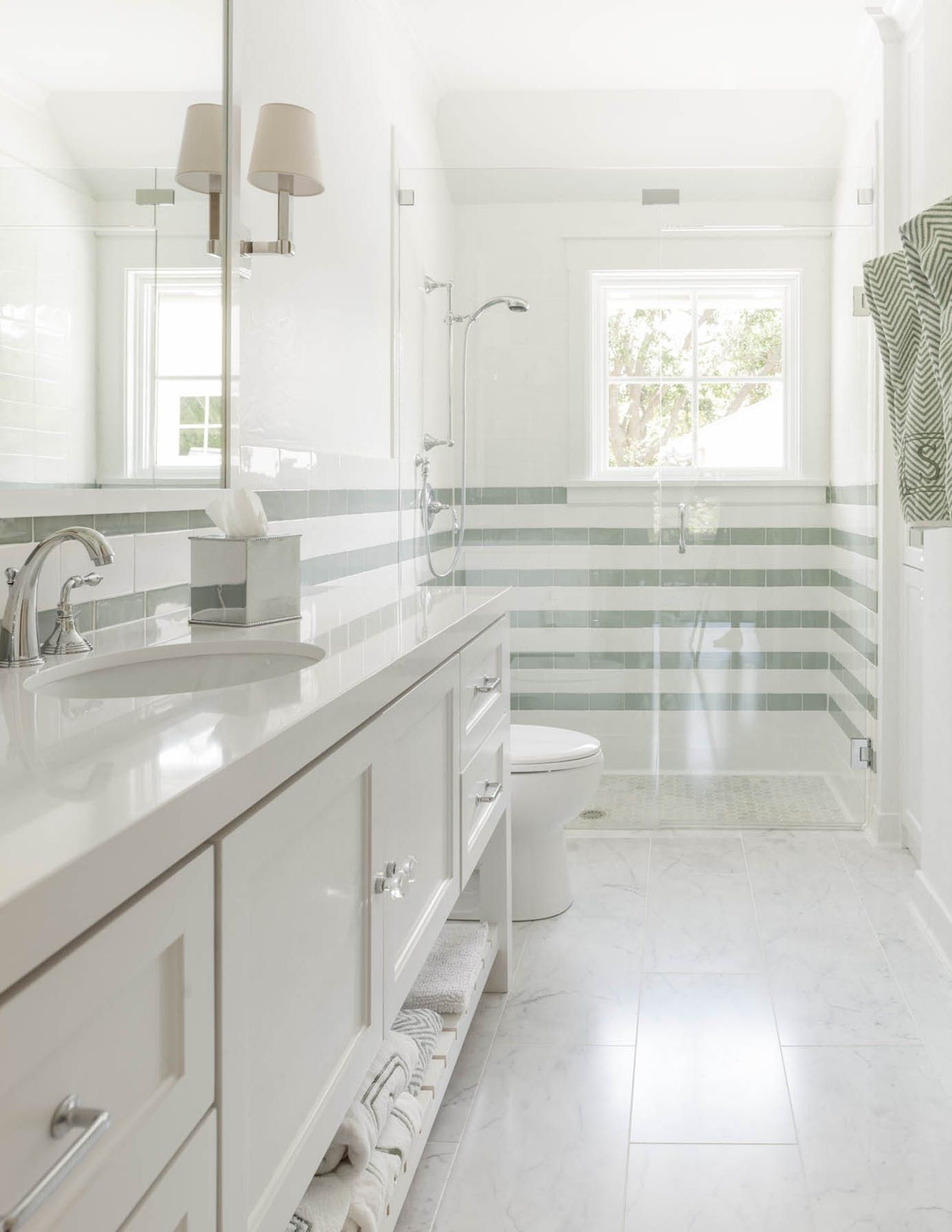 Parkchester Bath Transitional by Stocker Hoesterey Montenegro