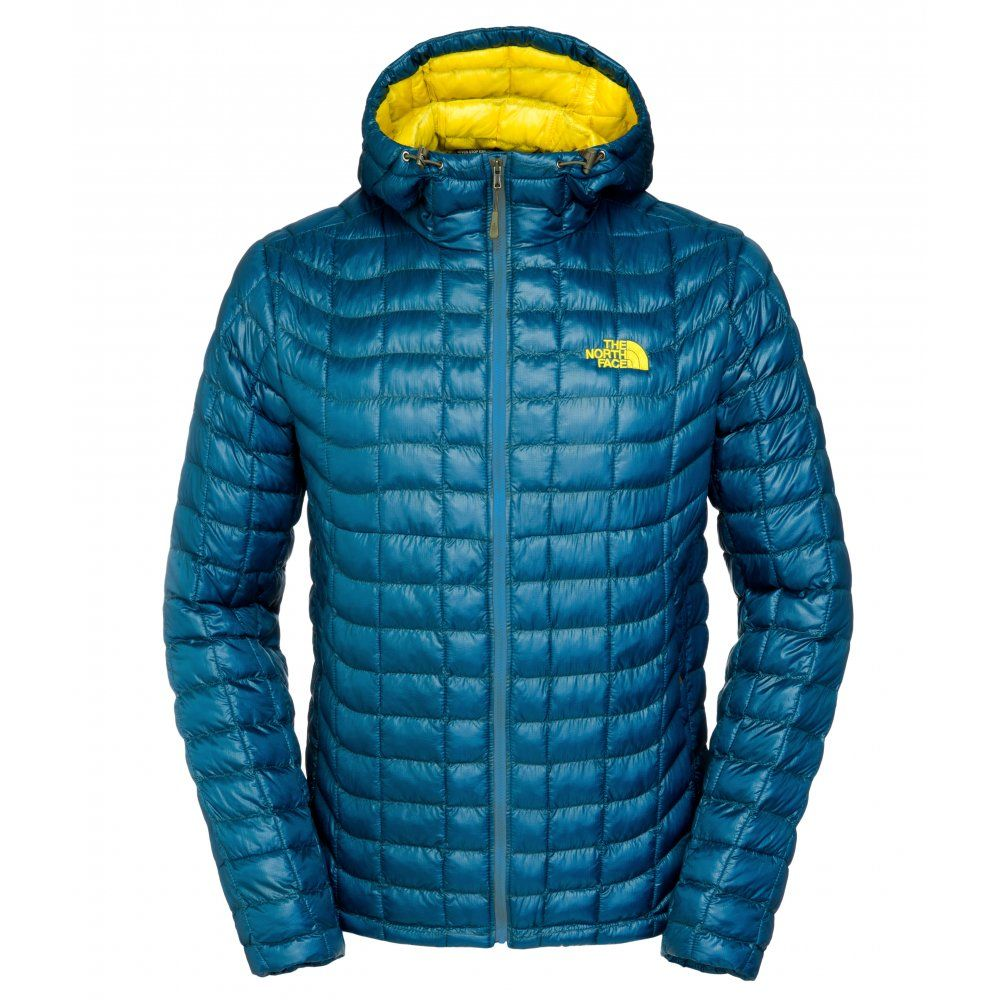 The North Face Mens Thermoball Hoodie Monterey Blue