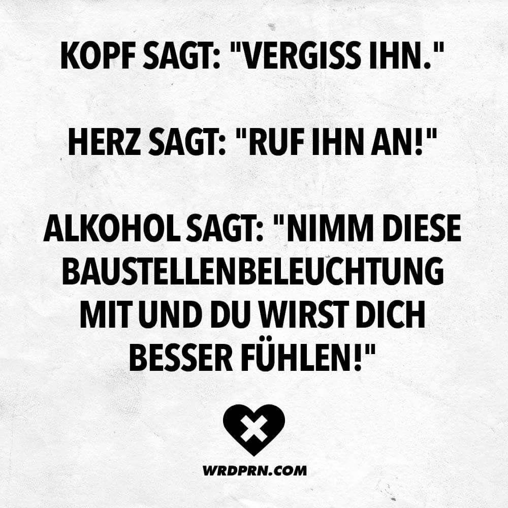 Immer Auf Den Alkohol Horen Funny Funny Funny Lyrics Funny Quotes