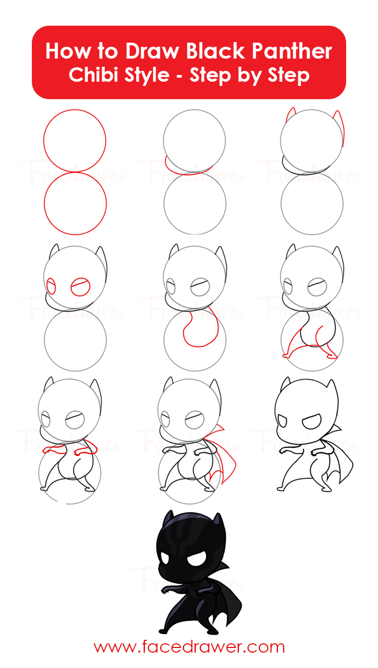 How To Draw Chibi Heroes