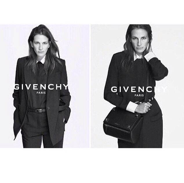 The pretty women for Givenchy S/S 2015 ads by Mert and Marcus