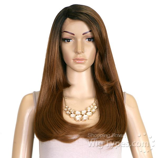 Janet collection synthetic two block lace wig diva for India diva futura