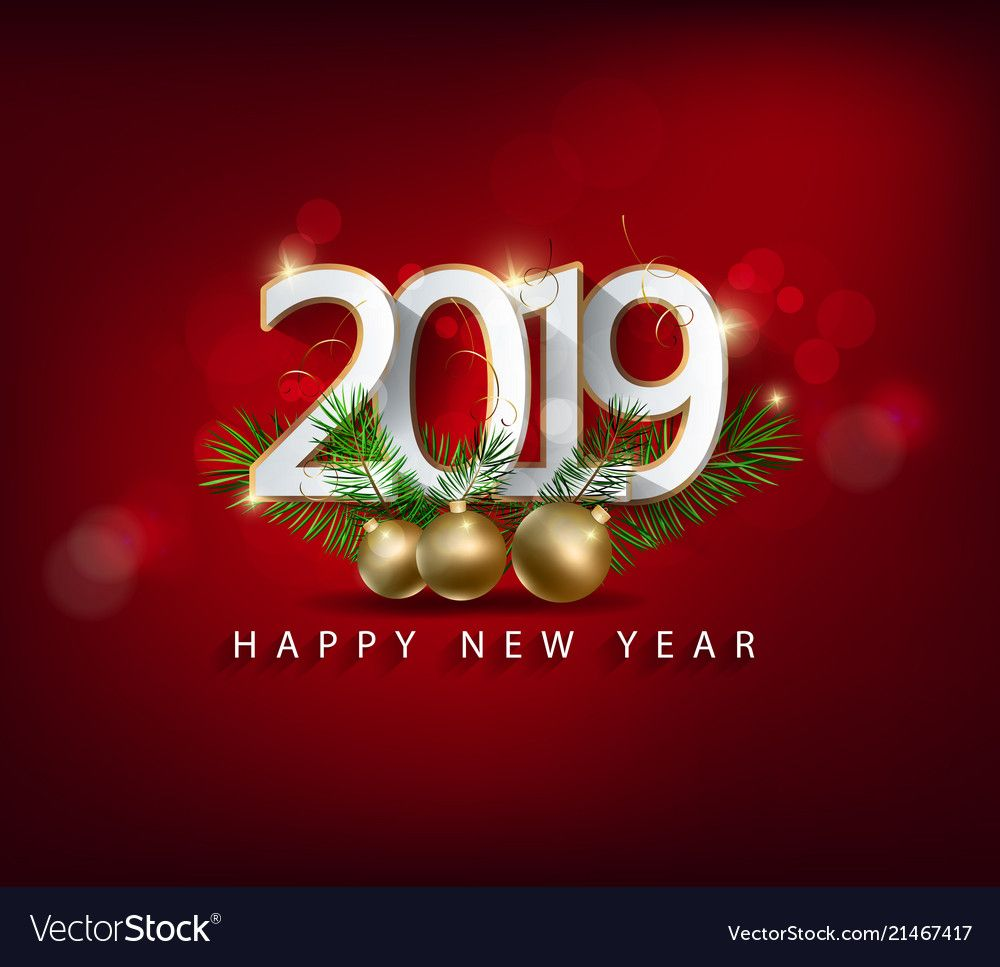 Happy new year 2019 and Merry Christmas. Download a Free