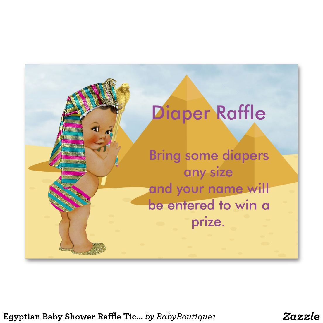 Egyptian baby shower raffle ticket raffle tickets egyptian and egyptian baby shower raffle ticket magicingreecefo Choice Image
