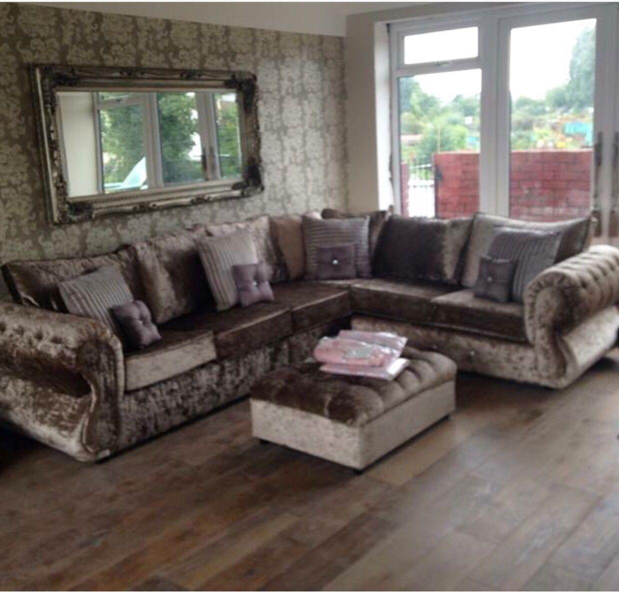 Pin By Priscilla Casillas On Lounge Crushed Velvet Living Room Cheap Living Room Sets Velvet Living Room