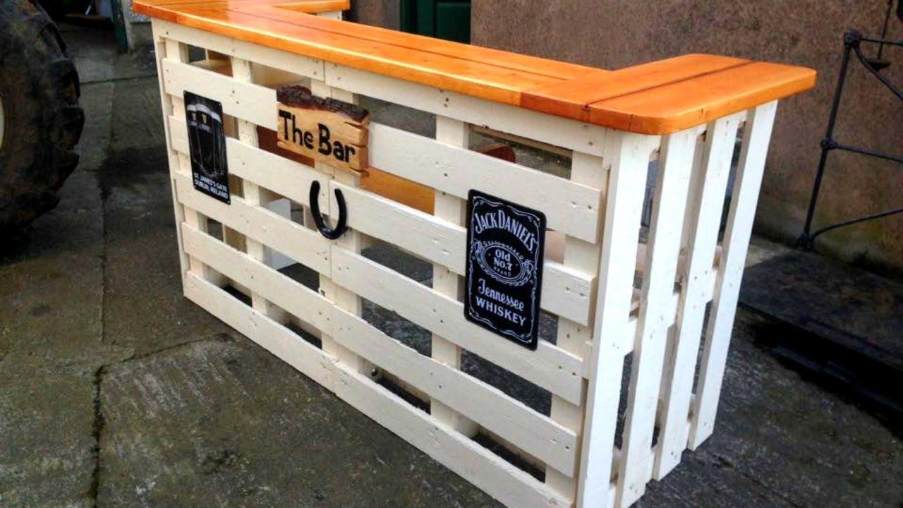 40 Diy Pallet Bar Ideas Creative 2017 Cheap Recycled Bar Design