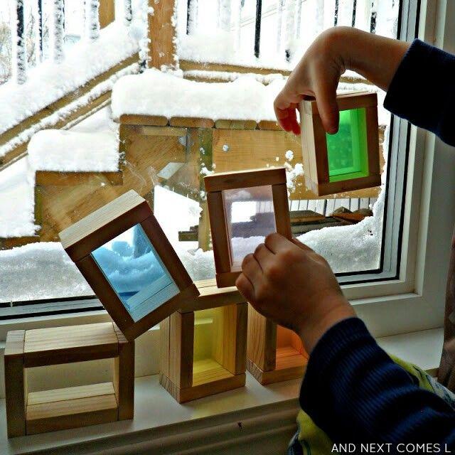 Bloques de color. Tutorial http://www.andnextcomesl.com/2013/11/diy-color-blocks.html?m=1