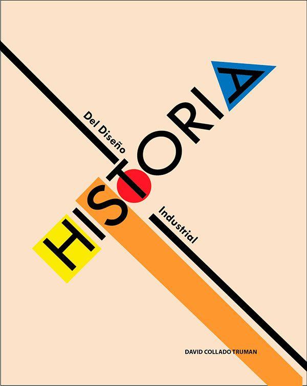 Portada realizada para el trabajo propuesto de historia del diseño