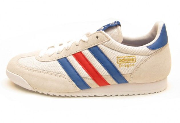 adidas dragon blue and white