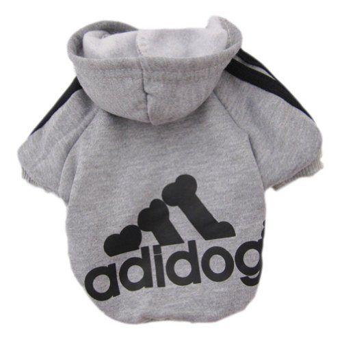 Zehui Pet Dog Cat Sweater Puppy T Shirt Warm Hoodies Coat Clothes Apparel Grey M - http://www.thepuppy.org/zehui-pet-dog-cat-sweater-puppy-t-shirt-warm-hoodies-coat-clothes-apparel-grey-m/