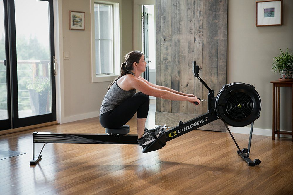 Concept2 Model D With Pm5 Performance Monitor Indoor Rower Rowing Machine Black Or Gray Salle De Sport Maison Equipement D Exercice Sport Et Loisir