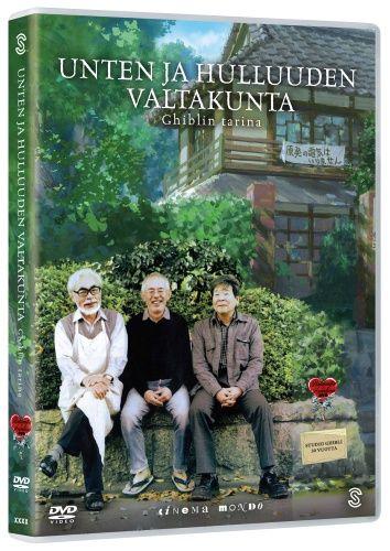 9,95€. Unten ja hulluuden valtakunta/Ghiblin tarina (DVD)