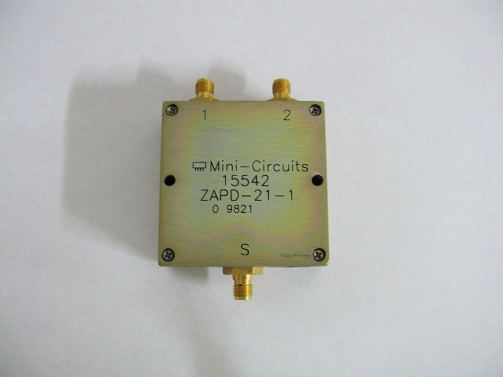 Mini-Circuits ZAPD-21-1 Power Splitter/Combiner 500 to 2000 MHz / 2