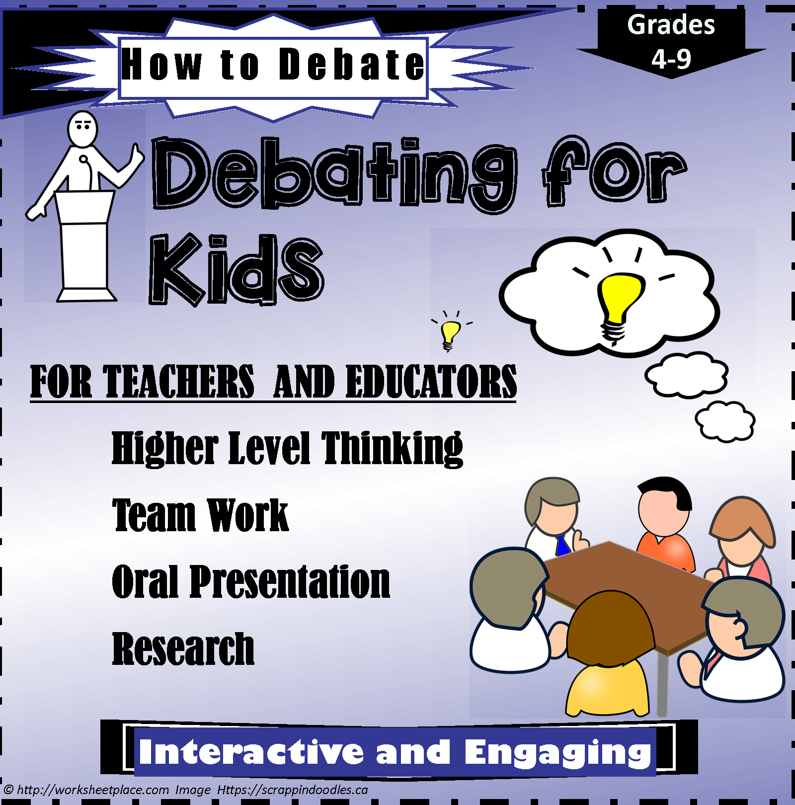 Teaching Kids To Debate Resources For Teachers For Having
