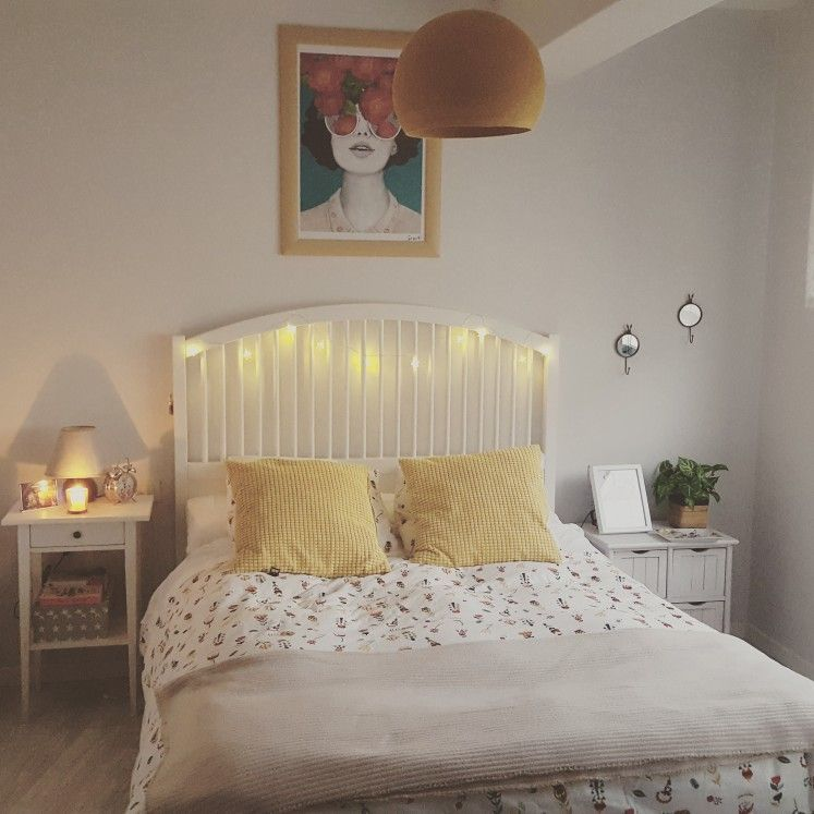 Dormitorio Cama Tyssedal Ikea Cama Dormitorio Ikea Tyssedal 2020 Small Room Decor Bedroom Design Bedroom Decor
