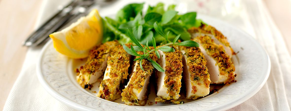 Breaded lemon chicken breast recipes