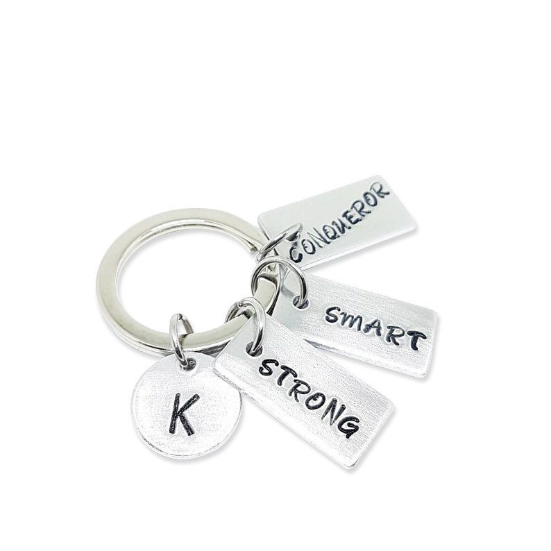 Keychain Tag Motivation Keychain Custom Keychain Positive Key