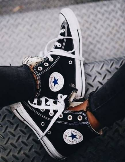 26 Trendy Sneakers Casual Style All Black 17