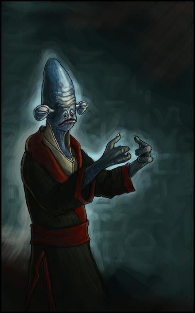 Sad Fish (aka Rakata the Rakata) | Star Wars Artists Guild | Star
