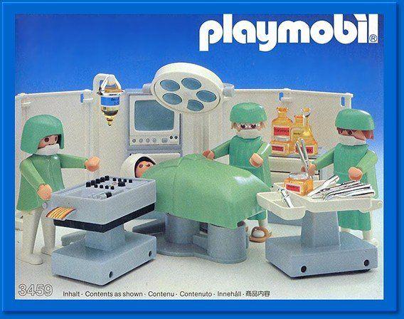 Playmobil Surgery Vintage Kids Toys Playmobil Childhood Toys