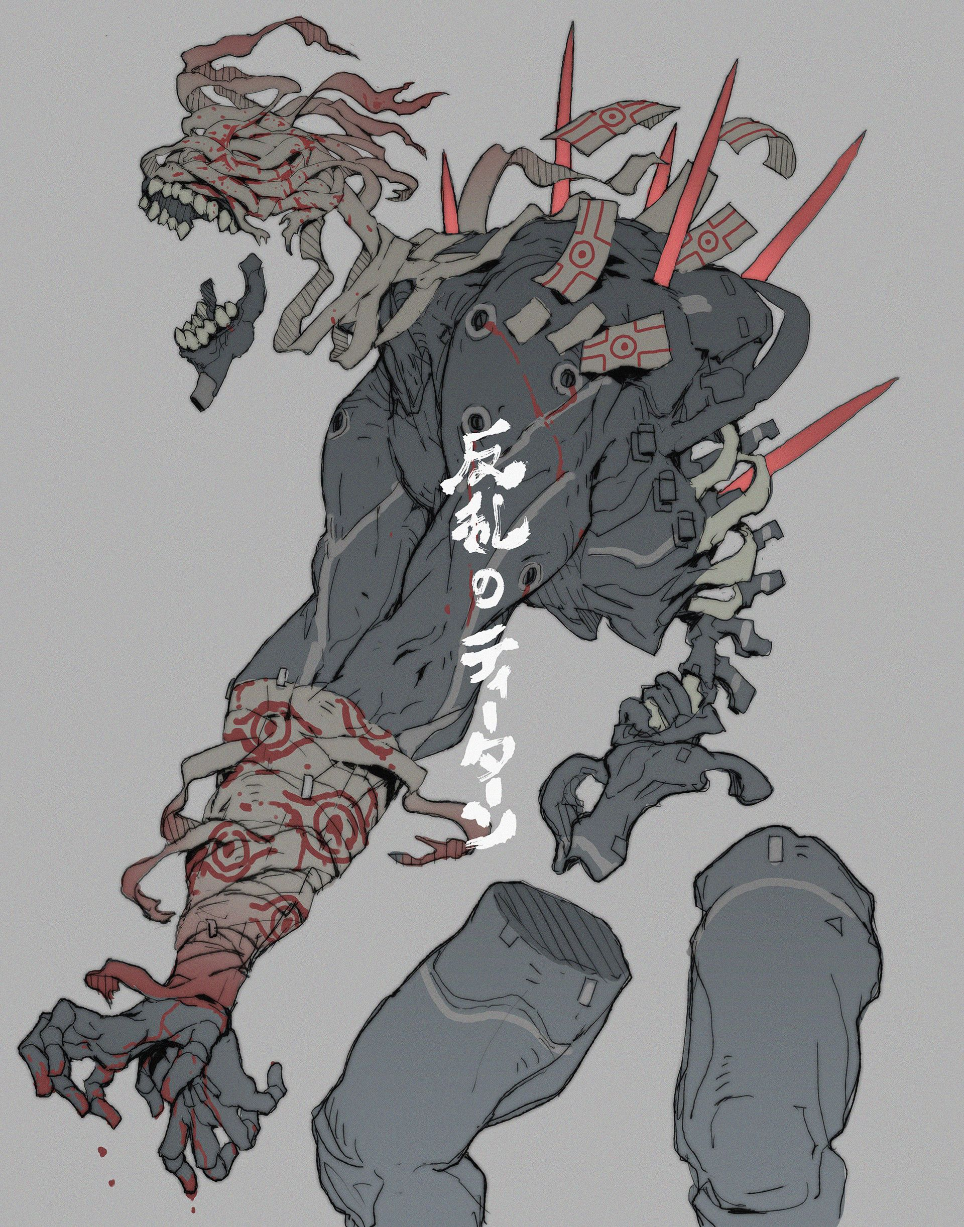 ArtStation - The Titan of rebellion, Ching Yeh | a | Pinterest ...
